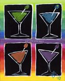 New Orleans Martini Party PRINT
