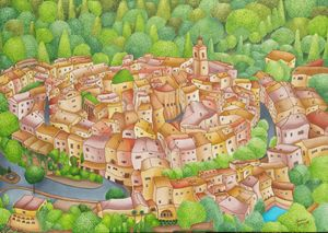 Mougins village, France