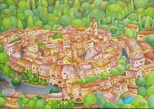 Mougins village, France - sansiri's studio