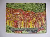 32.8 x 24.8 Cm. Watercolor
