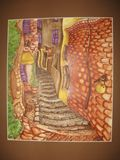 27 x 23 cm. Watercolor