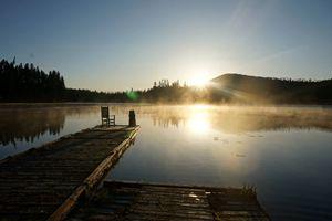 Early Morning on Thomas Lake