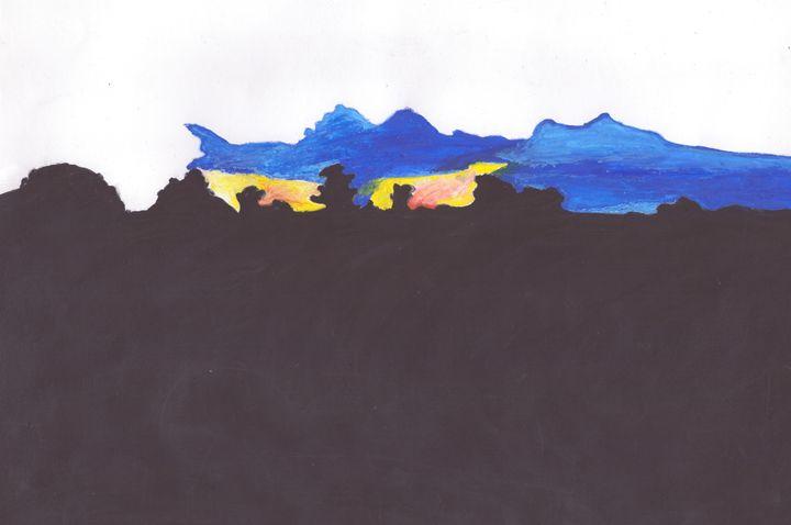 Black and Blue - DDSartwork