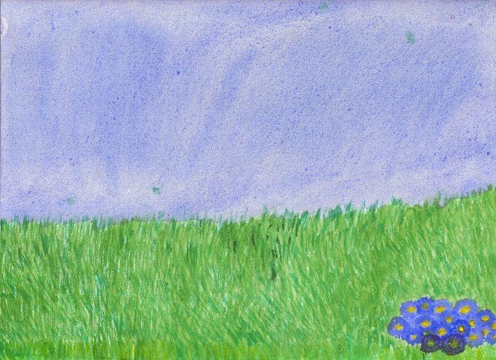 grassy field - DDSartwork