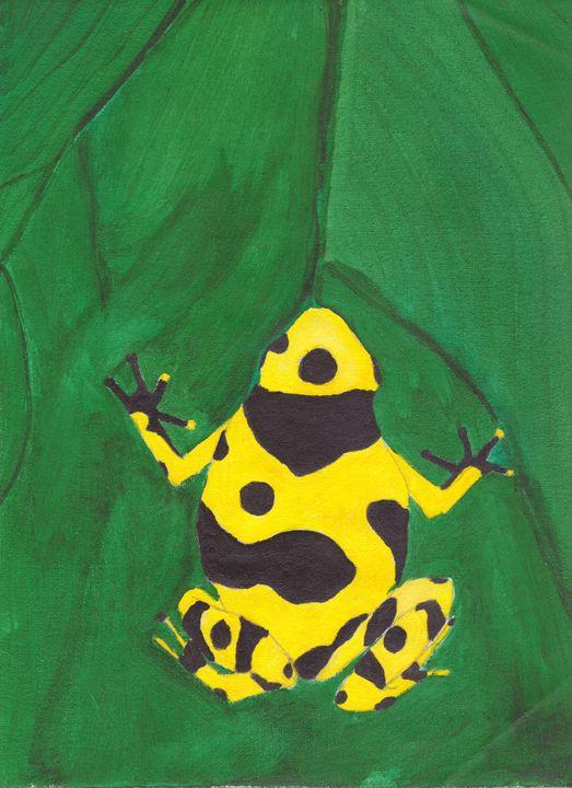 Dart Frog - DDSartwork