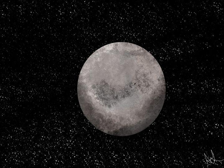 Full Moon - ambersartworks