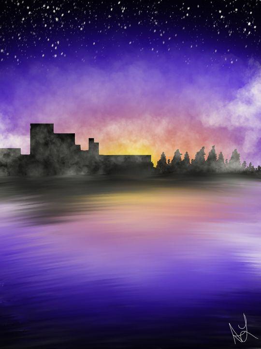 City Sky - ambersartworks