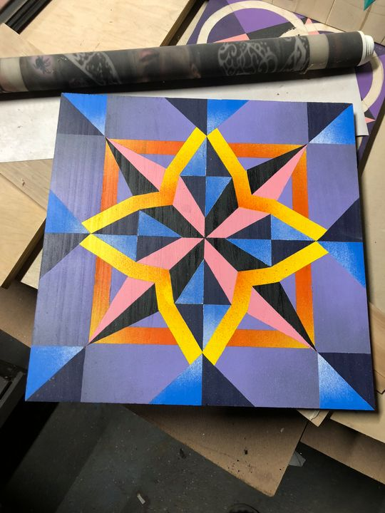 Barn Quilt - Art By Haley