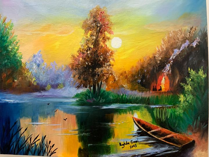 Warm sunset - Raghda Emad
