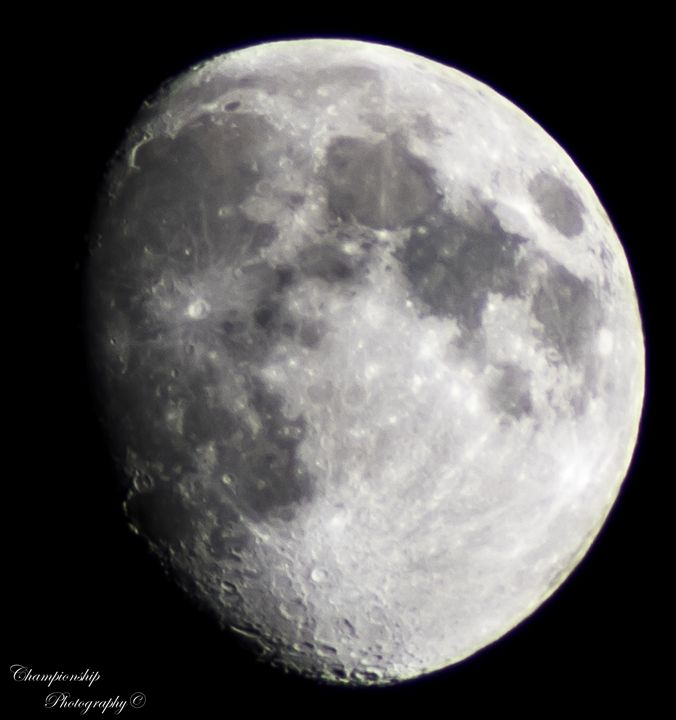 Waxing Gibbous - Championship Photography