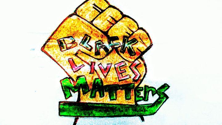 Black lives matter - Jonesoffspring
