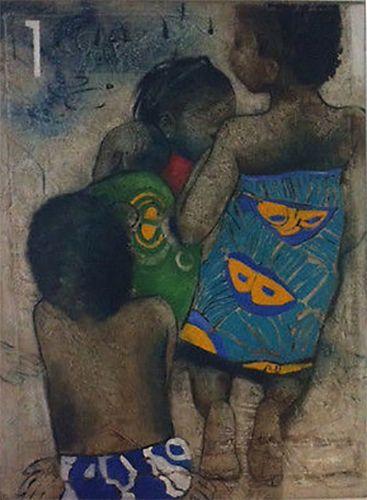 Children of Benin - Art Speaks