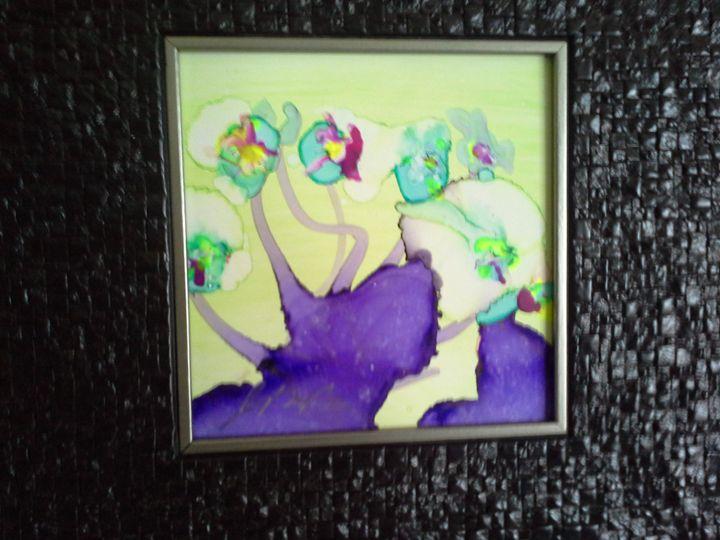 abstract flowers #3 - George Beronja Jr