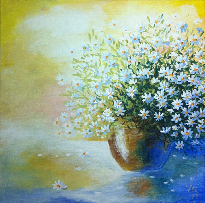 Lovely Daisies - YG Art