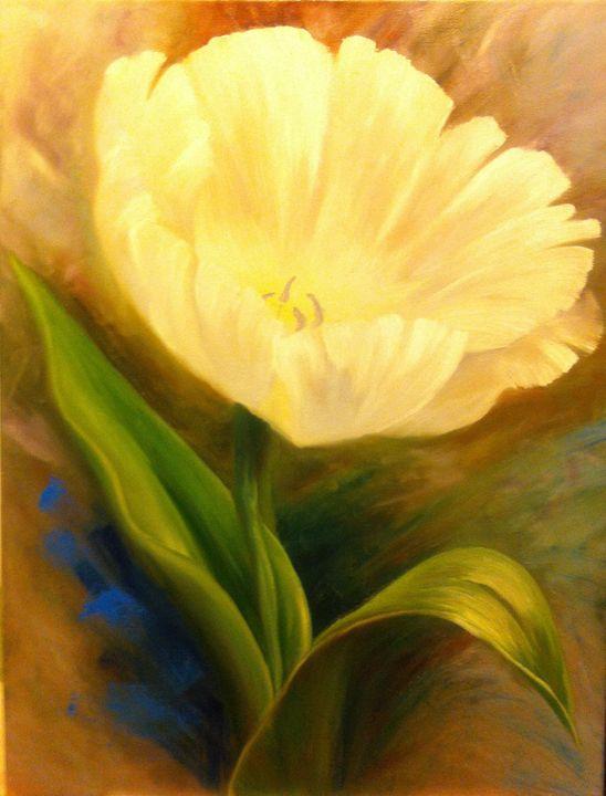 Yellow Tulip - YG Art