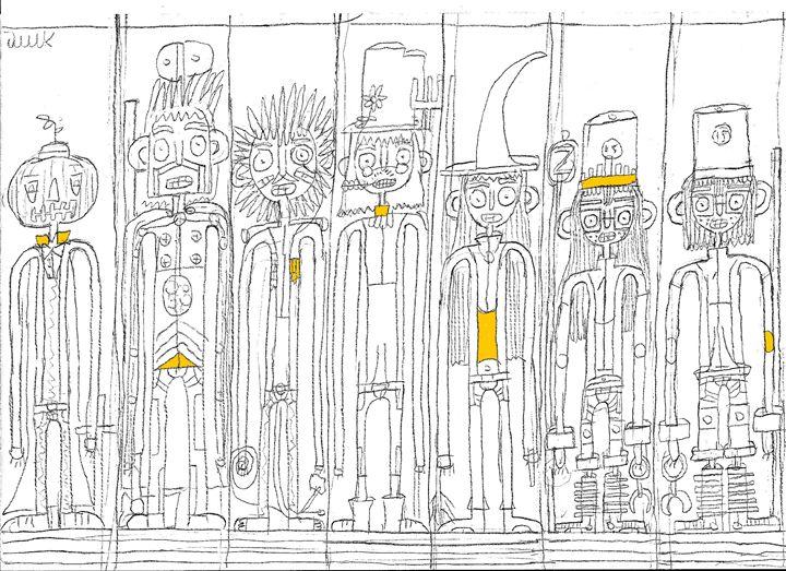 Big Yellow Gang - Oren's Drawing Room