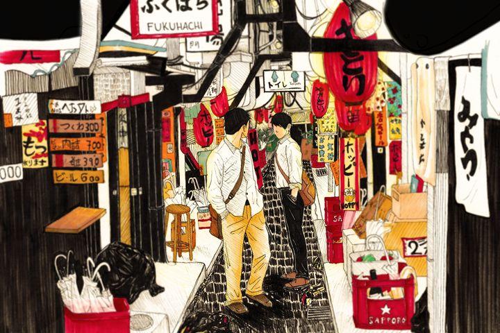 Alleyway - Kei Aniki Art