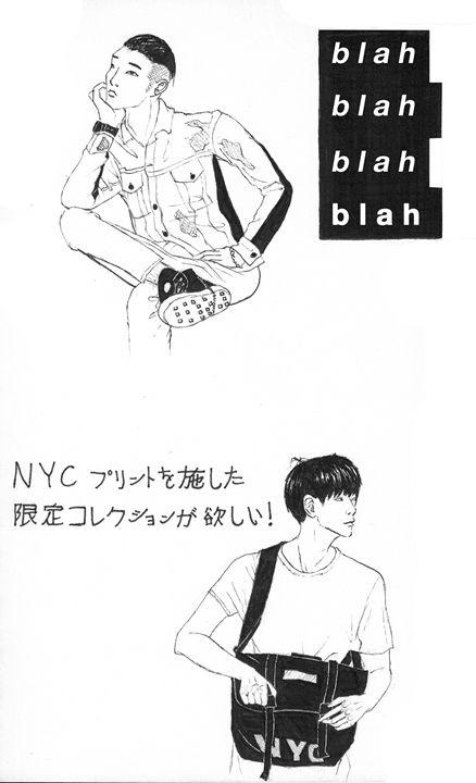 Fashion sketches A - Kei Aniki Art