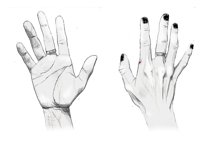 Hands - Kei Aniki Art