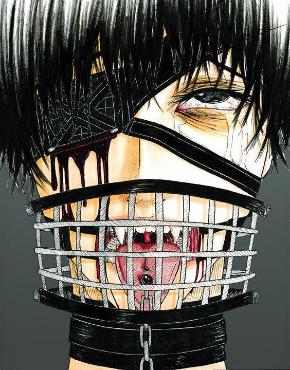 Mask - Kei Aniki Art