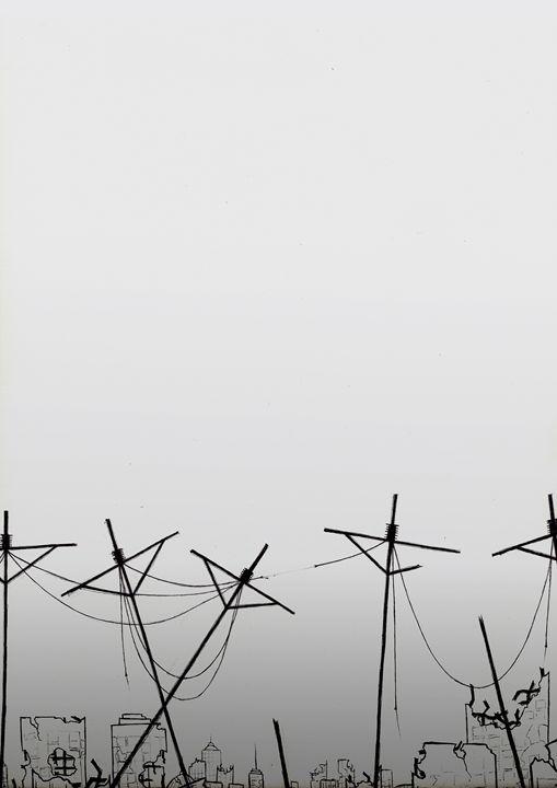 Power Lines - Kei Aniki Art