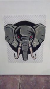 Red Eyed Elephant