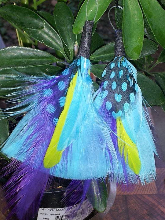 Blue Bird Earrings - CraftsMind