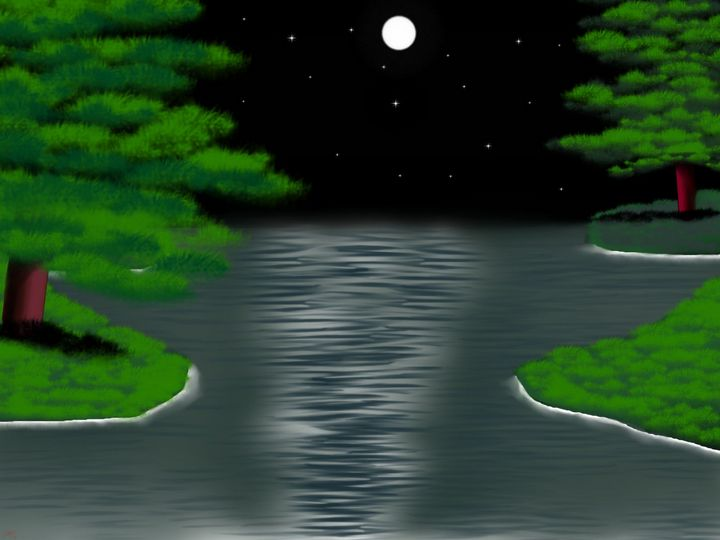 moon lake - Jaws83 Gifts by Design