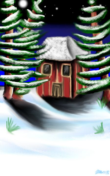 snow cottage - Jaws83 Gifts by Design