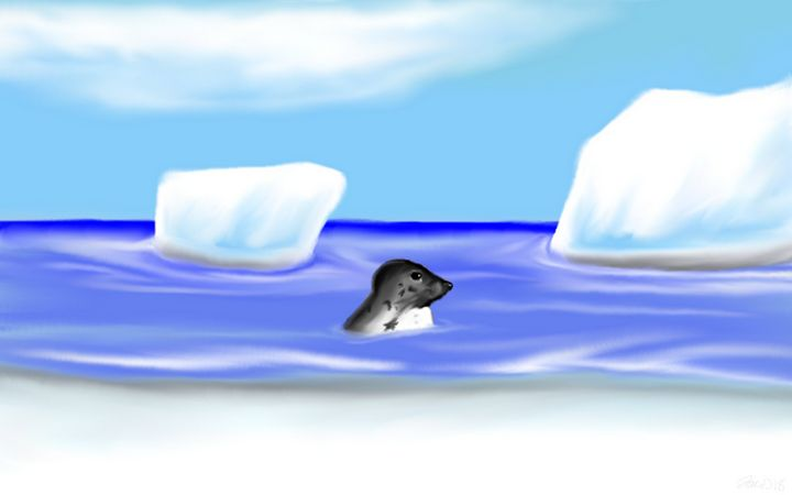 Arctic seal - Jaws83 Gifts by Design