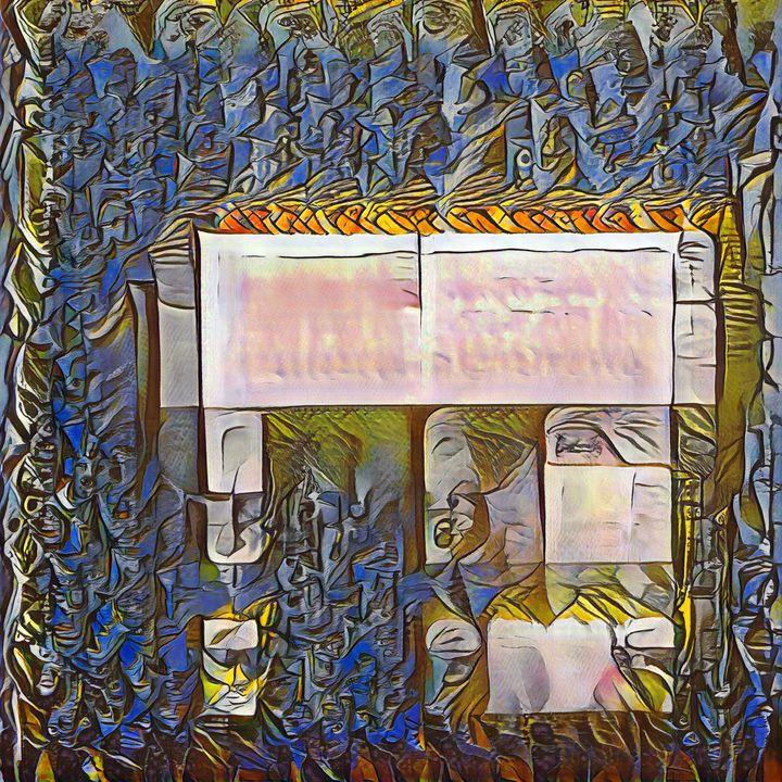 The Elephant House - Imagined Cubism