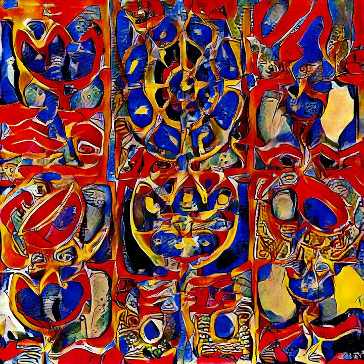 Badges of Referral - Imagined Cubism