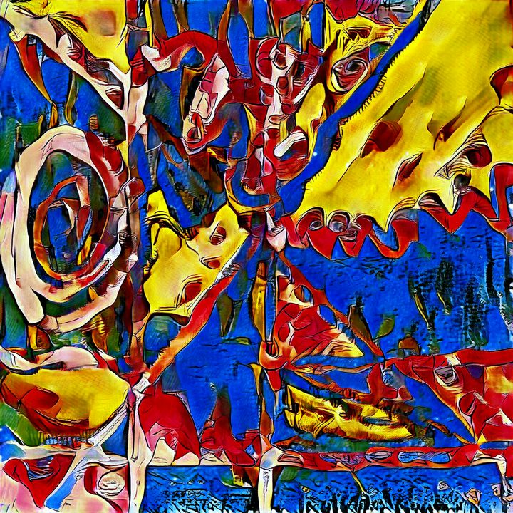 The Decision - Imagined Cubism