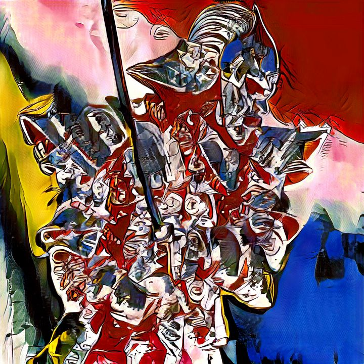 The Warrior - Imagined Cubism