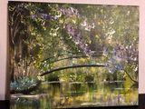 Backwater. Bridge.