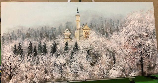 Neuschwanstein Castle. - EVasilyeva