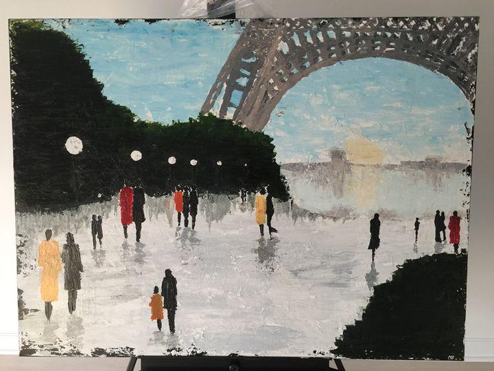 Paris eiffel tower stroll - Masi designs
