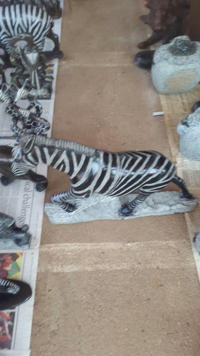 Zebra - YADAH SCULPTURES