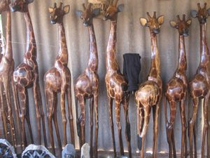 GIRAFFE SCULPTURES $800.00 - YADAH SCULPTURES