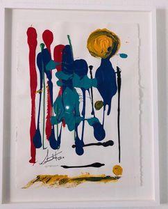 I Am Dreaming Colors - Paper 2020