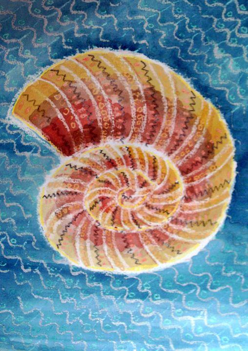ocean fossil - Deimante Kajataite