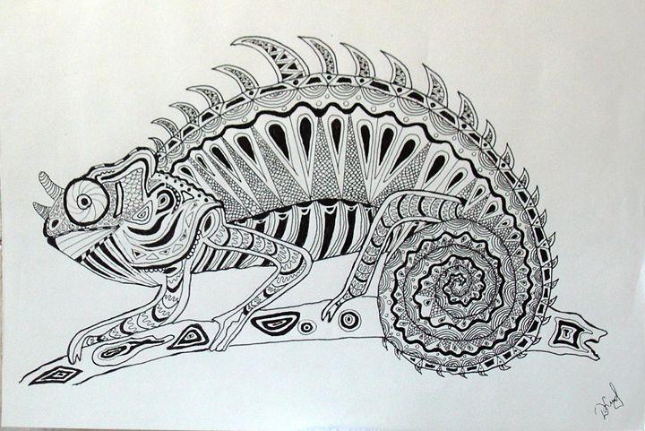 chameleon - Deimante Kajataite