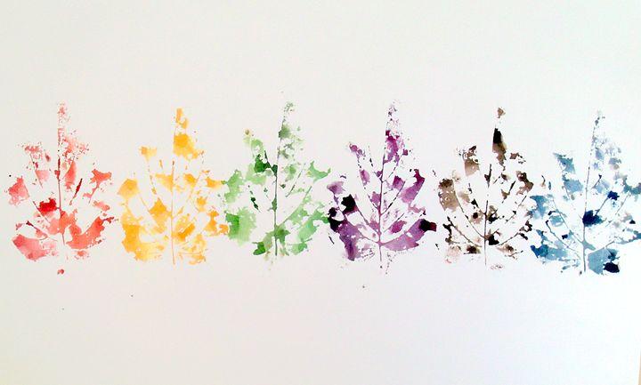 autumn leaves - Deimante Kajataite