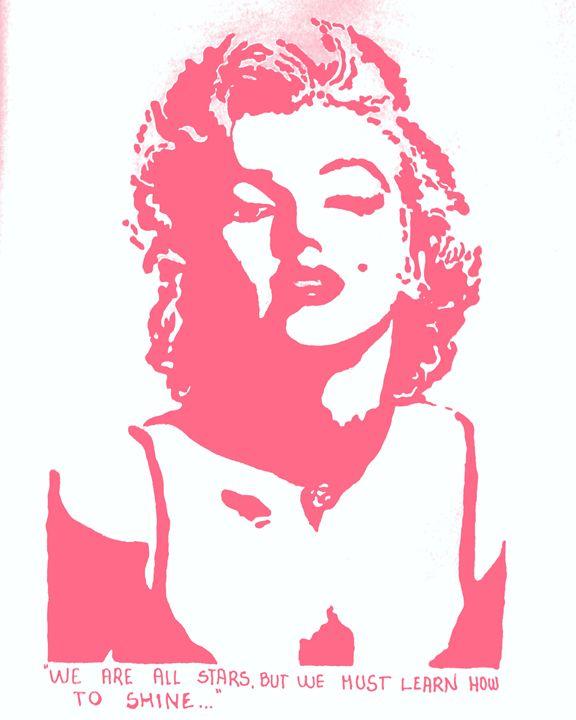 Marilyn monroe - Deimante Kajataite