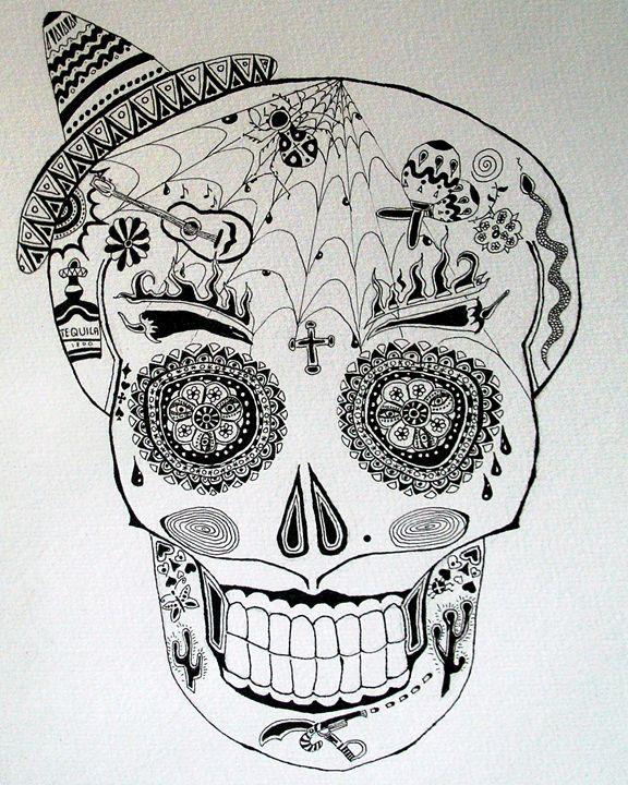 The Mexican Halloween - Deimante Kajataite