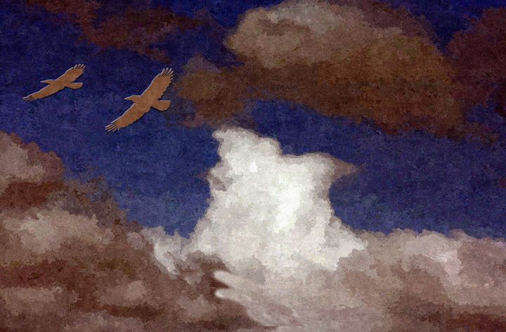 Clouds in the Sky - Larry Stolle