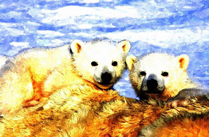 Polar Bear - Larry Stolle