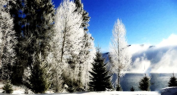 Winter in Montana - Larry Stolle