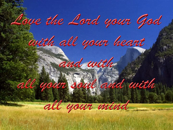 LOVE THE LORD - Larry Stolle