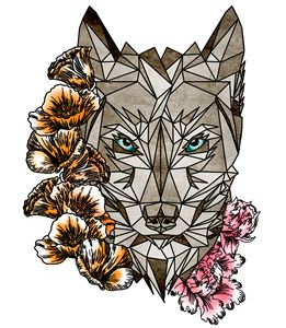 Geometric Wolf - Maxim Iulia